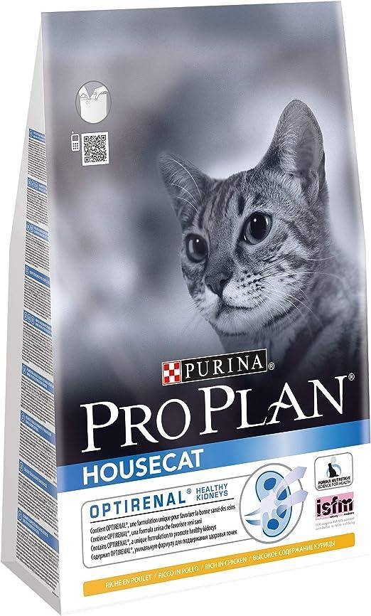 Pro Plan Housecat Alimento seco para Gatos Pollo y Arroz 3kg: Amazon.es: Productos para mascotas
