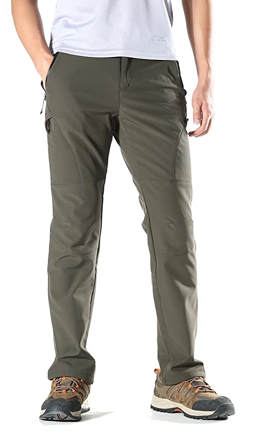 Amazon Com Koraman Mens Insulated Water Repellent Outdoor Pants