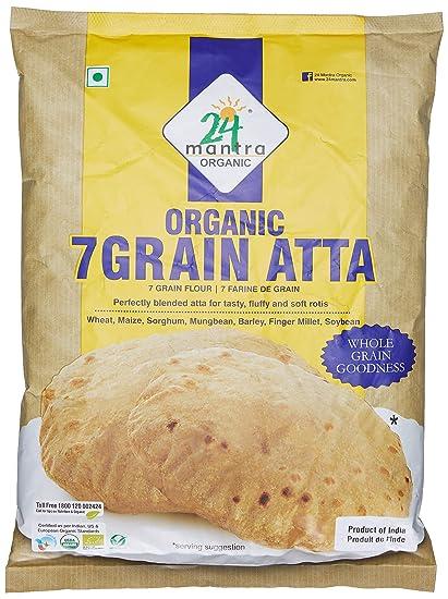 24 Mantra 7 Grain Atta, 1kg