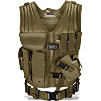 Táctica Chaleco para paintball Woodland Airsoft Outdoor Incluye