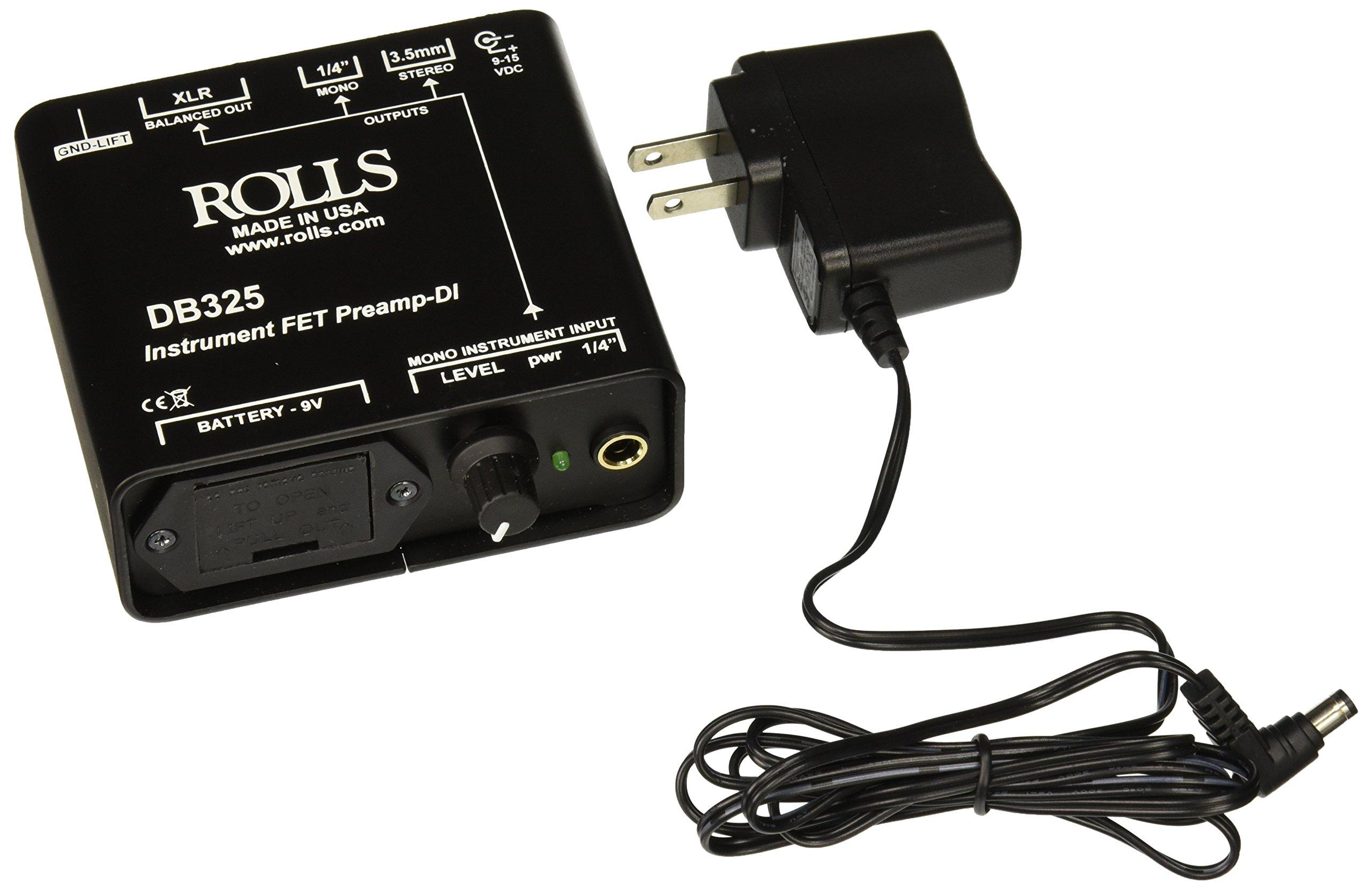 rolls DB325 Instrument Fet Preamp-Di
