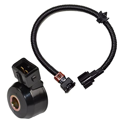 amazon com hqrp knock sensor w wiring harness for nissan maxima 92 rh amazon com