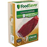 FoodSaver GameSaver 1 Quart Vacuum Seal Bag with BPA-Free Multilayer Construction, 44 Count