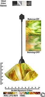 product image for Jezebel Signature JRBL-LP12-BUT-TRBL Black Lily Track Light, Small, Buttercup