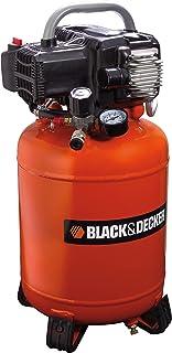 BLACK+DECKER NKCV304BND011 BD 195/24V-NK Air Compressor 24L, 1100 W, 230 V, Black/Yellow