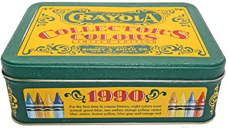 amazon com crayola collector s colors limited edition tin with
