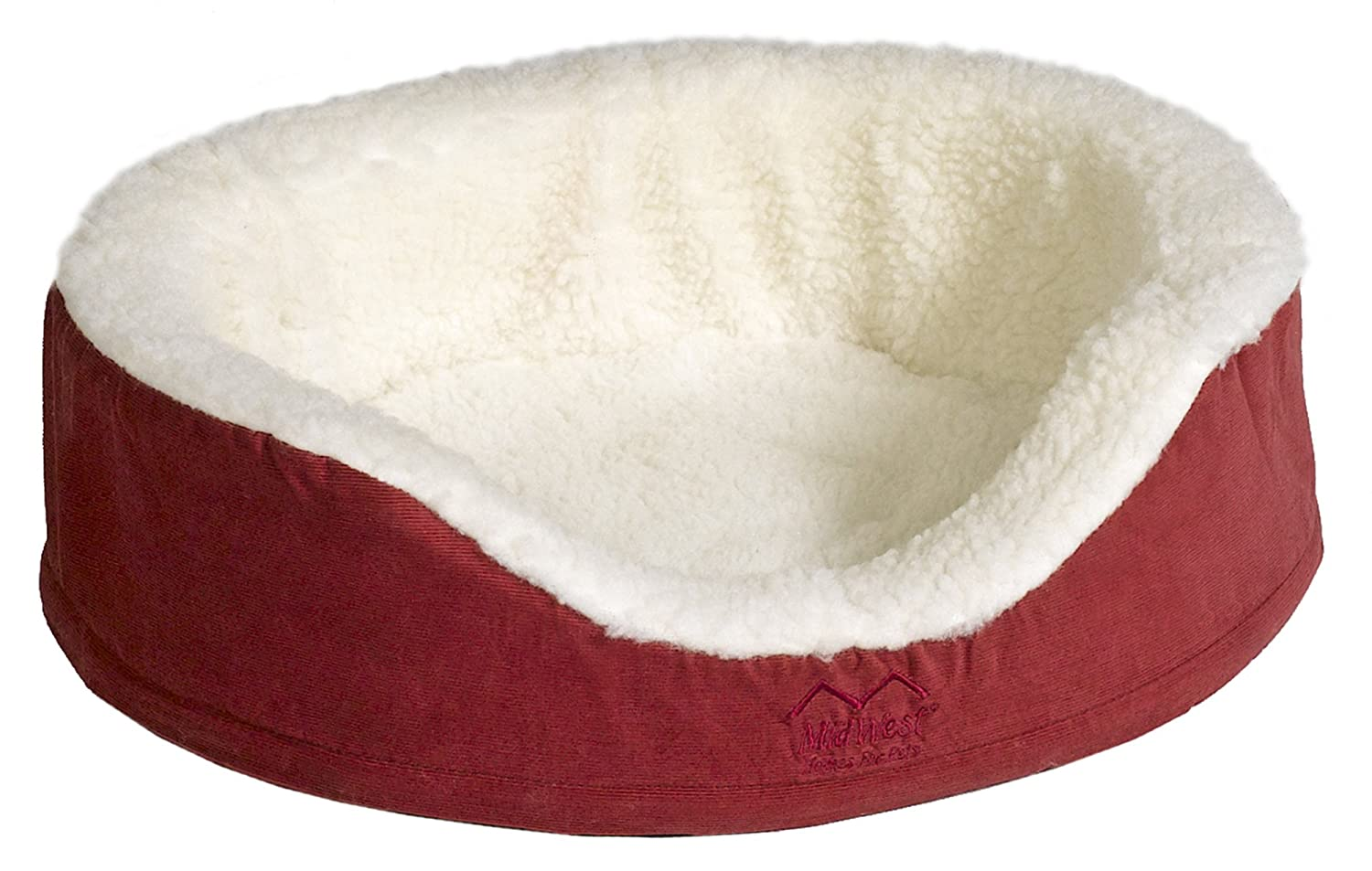 Burgundy 42  DiameterMidwest Quiet Time e'Sensuals Orthopedic Nesting Bed, 29 Diameter (pink)