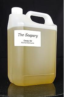 Aceite de ricino puro y prensado en frío, a granel (5 litros)