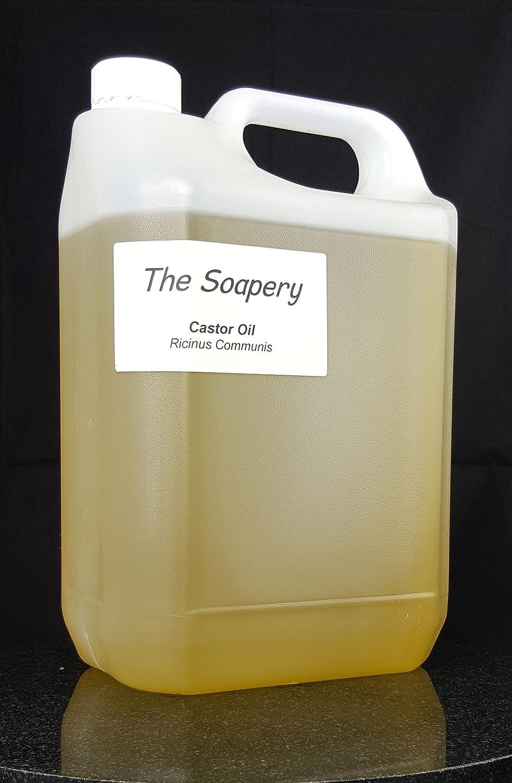 Aceite de ricino puro y prensado en frío, a granel (5 litros ...