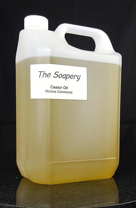 Aceite de ricino puro y prensado en frío, ...