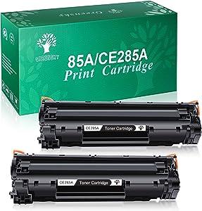 GREENSKY Compatible Toner Cartridges Replacement for HP 85A CE285A for HP Laserjet Pro M1212NF M1217NFW P1102W P1109W Printer (Black, 2-Pack)
