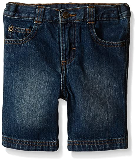 d33ecf6ef Wrangler Authentics Toddler Boys' Slim Straight 5-Pocket Short, Mid Blue,  ...