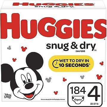 mini Huggies Snug & Dry