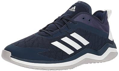 adeec472ad adidas Men's Speed Trainer 4 Baseball Shoe, Collegiate Navy/Crystal  White/Dark Blue-SLD, 9.5 M US