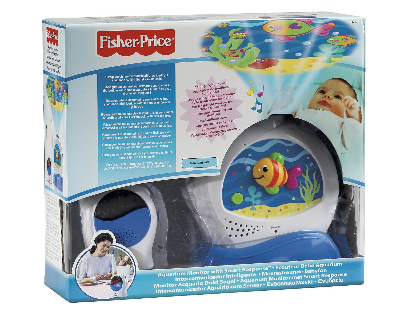 Fisher-Price Baby Gear h7179 Monitor Acuario Dulces sueños: Amazon ...