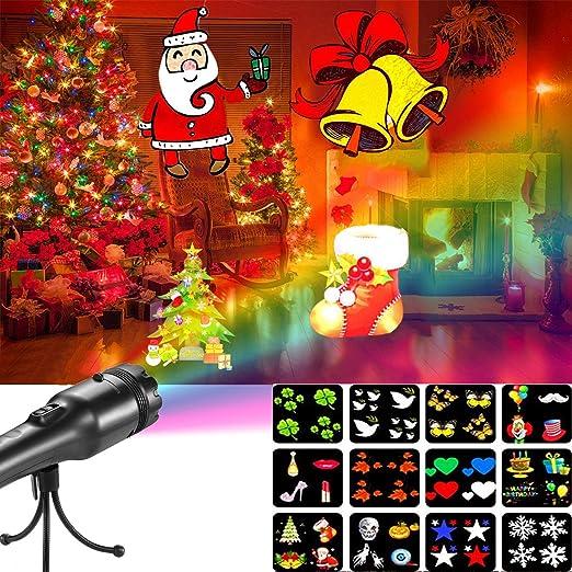 ABRRLO Portátil Luces de Proyector Navidad Interior y ...