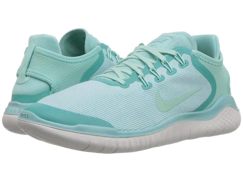 [NIKE(ナイキ)] レディーステニスシューズスニーカー靴 Free RN 2018 Island Green/Igloo/Vast Grey 8 (25cm) B - Medium B07H8FL28L