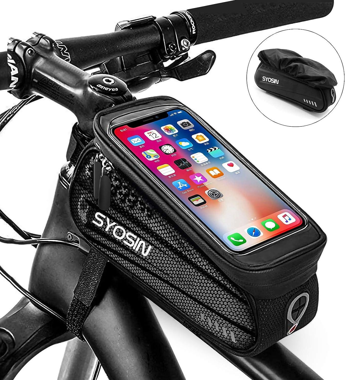 MTB Bike Phone Bag Touch Screen Frame Bag Pannier Bicycle Mobile Phone Holder