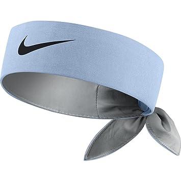 Nike Tie Up Headband Bandana Blue  Amazon.co.uk  Sports   Outdoors 4f1595aa511