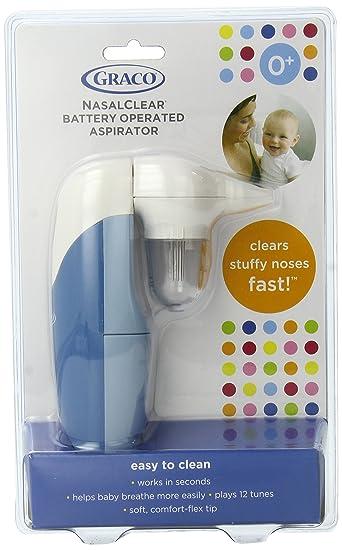 1498e6a4d Amazon.com : Graco NasalClear Nasal Aspirator, 1 Count : Baby
