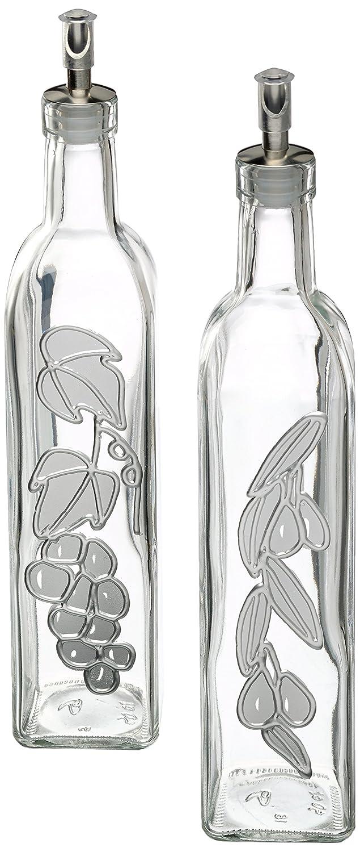 kitchen craft italian collection 2er set essig und lspender gro ebay. Black Bedroom Furniture Sets. Home Design Ideas