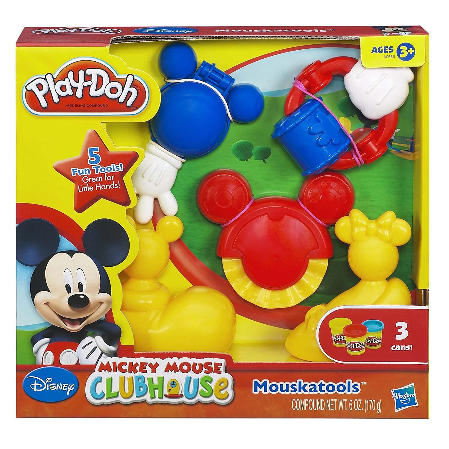 Amazon Play Doh Mickey Mouse Clubhouse Disney Mouskatools Set