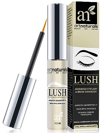 cad532143c2 Amazon.com: ArtNaturals Eyelash Growth Serum - 3.5ml - Thicker, Longer  Eyelashes and Eyebrow Enhancer - Dermatologist Tested Product -  Revolutionary ...