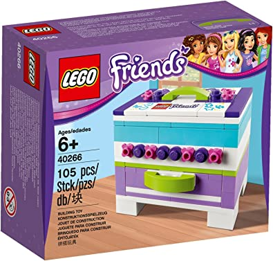 Lego Friends 40266 - Caja de Almacenamiento para Joyas (Incluye ...