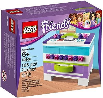 Lego Friends 40266 - Caja de Almacenamiento para Joyas (Incluye Caja de Regalo 2017)