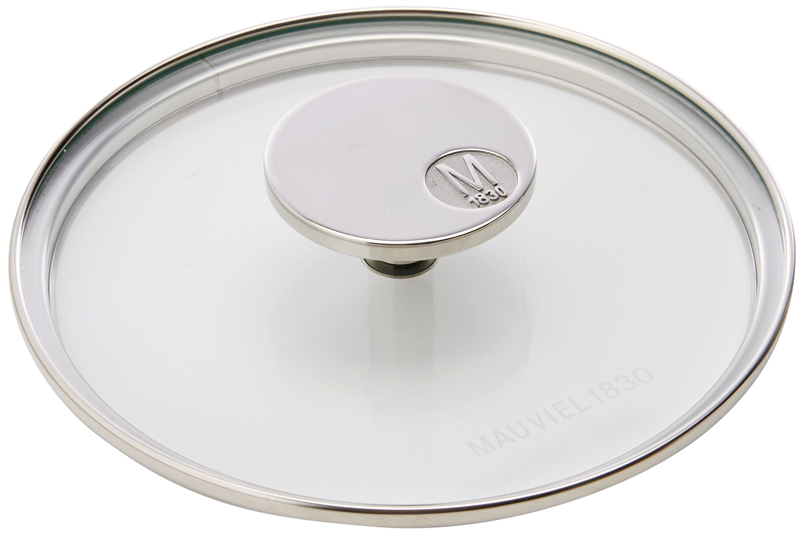 Mauviel Made In France M'360 5318.16 6.3-Inch Glass Lid with Cast Stainless Steel