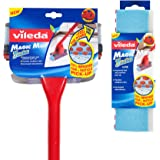 Vileda Magic Mop 3Action with Extra Refill, Red