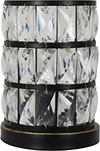Decor Therapy TL19143 Hayes Uplight, Bronze with Clear Acrylic