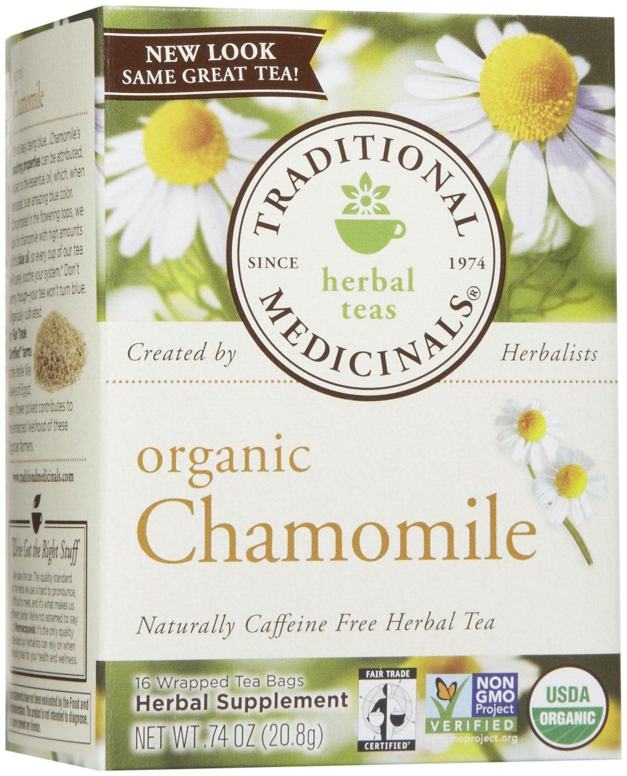 Traditional Medicinals Organic Chamomile Herbal Tea