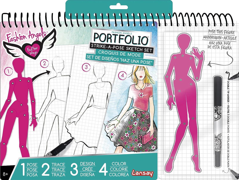 Lansay - 12037 - Portfolio Croquis De Mode