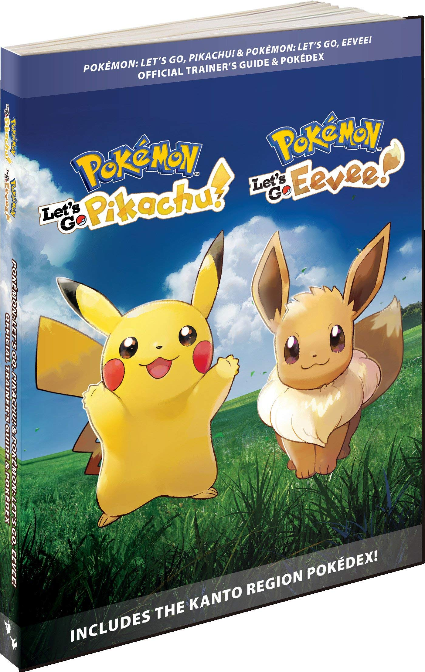 Pokémon Lets Go, Pikachu! & Pokémon Lets Go, Eevee!: Official ...