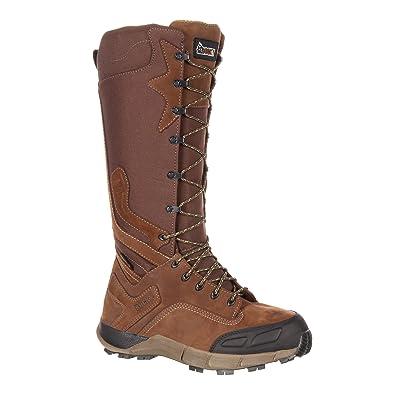 Broadhead Men's Snakeproof Waterproof Side-Zip Trail Boot-RKS0291