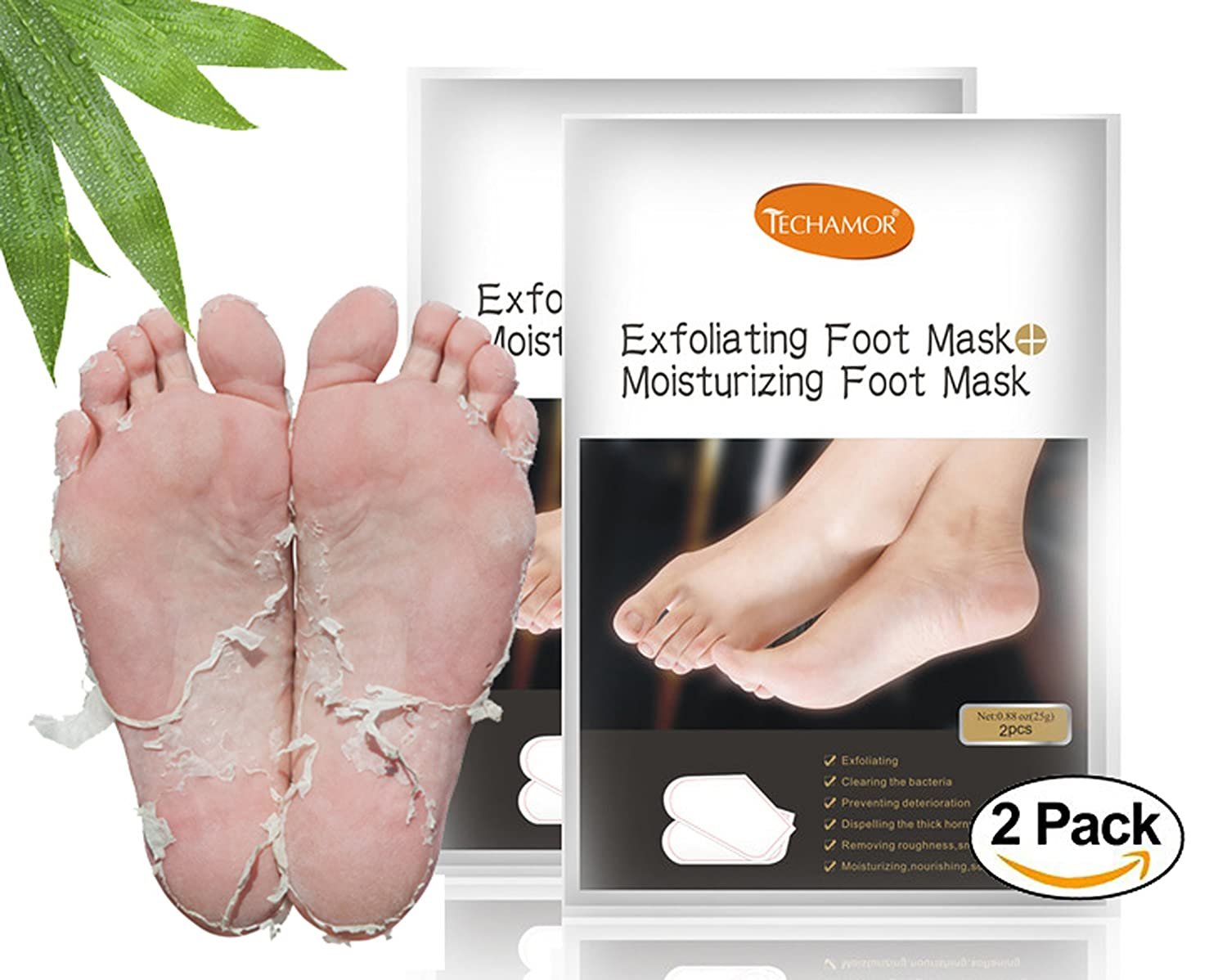 Hard skin foot peel
