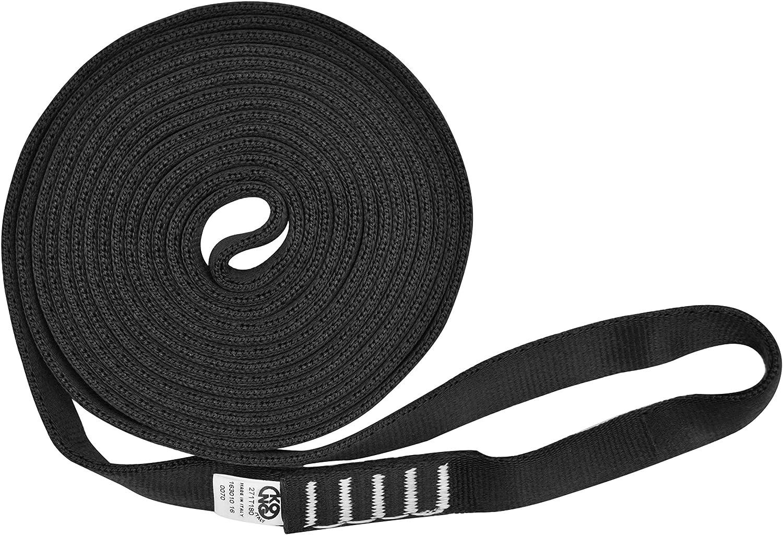 Desconocido Kong Aro Sling Tubular Anillo de Cinta, Negro, 120 cm