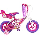 Sonic Daisy Girls  12 Inch Bike, White/Pink,
