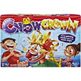 Chow Crown Game Kids Electronic Spinning Crown Snacks Food Kids and Family Game Ages 8 and Up