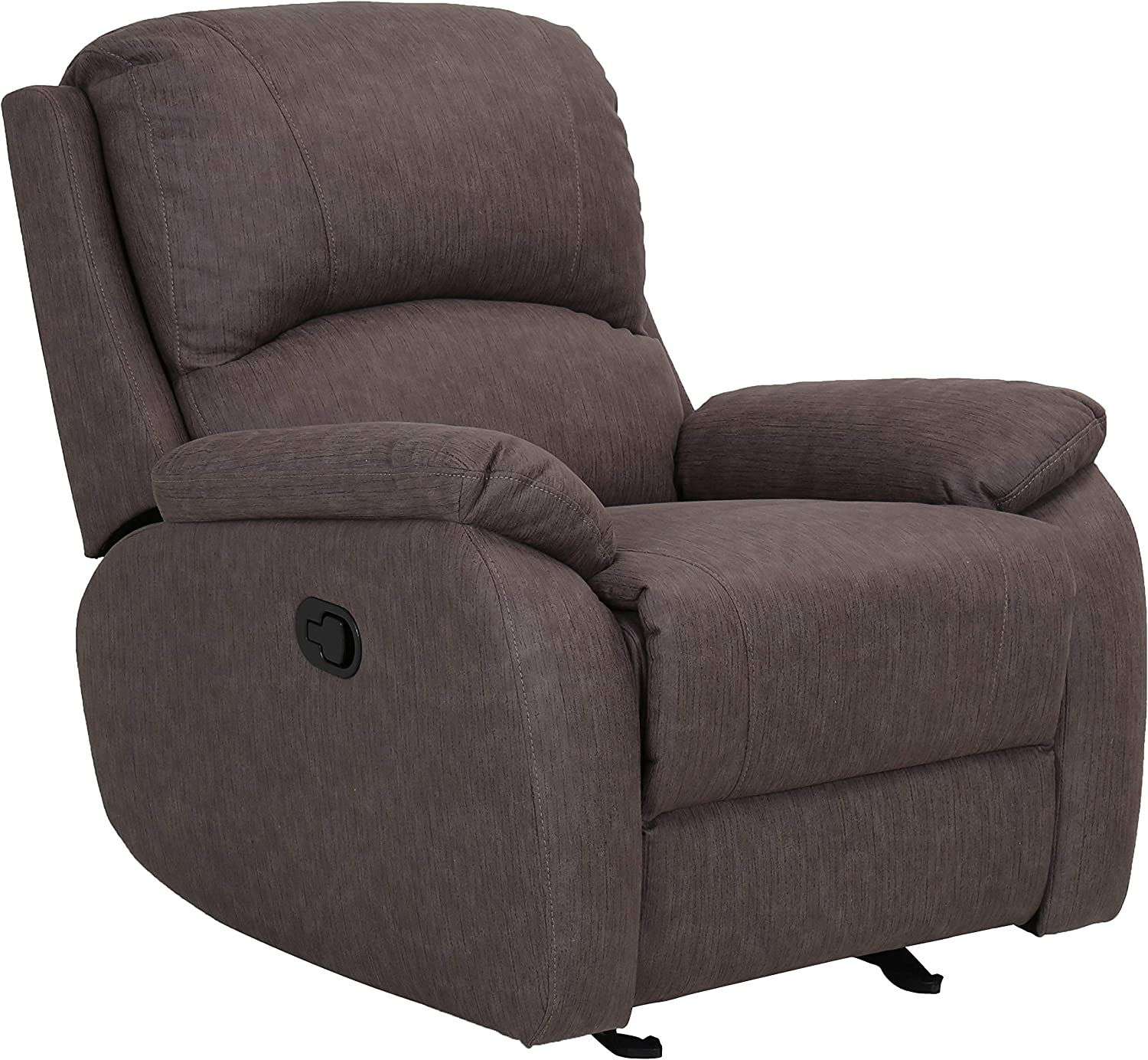 Amazon Brand – Ravenna Home Oakesdale Contemporary Recliner, 35.4