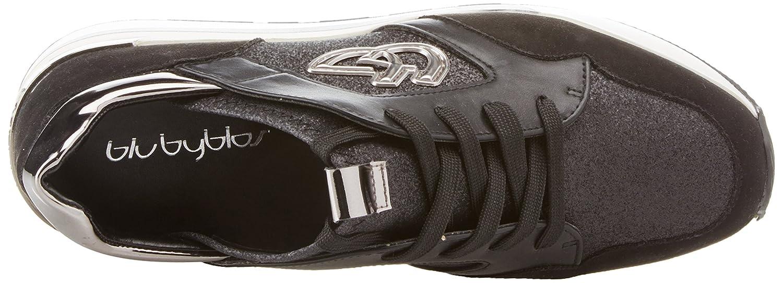 Byblos Damen Damen Byblos Running Glam Sneaker Schwarz (Nero 001) 2ab2c7