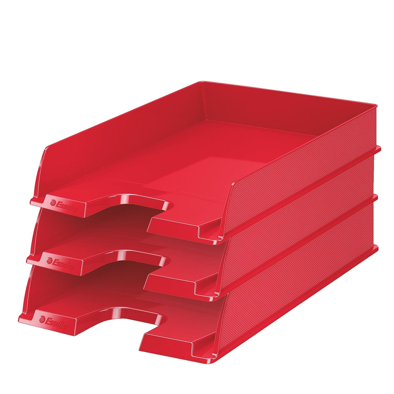 Portacorrispondenza Europost Esselte - 35x 25, 4x61 cm - rosso - 623607 (conf.10)