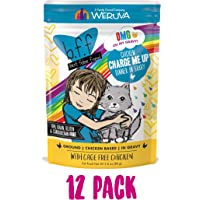 B.F.F. OMG - Best Feline Friend Oh My Gravy!, Chicken Charge Me Up with Chicken in Gravy, 2.8oz Pouch (Pack of 12)
