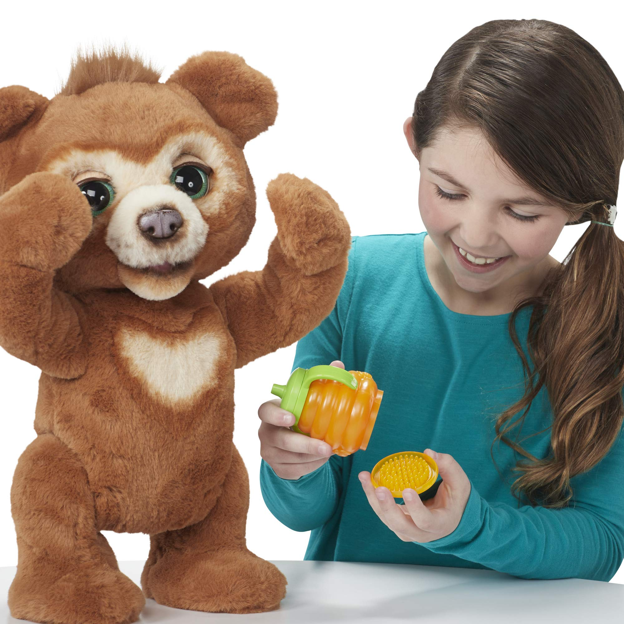FurReal Cubby, The Curious Bear Interactive Plush Toy, Ages 4 and Up by FurReal (Image #14)