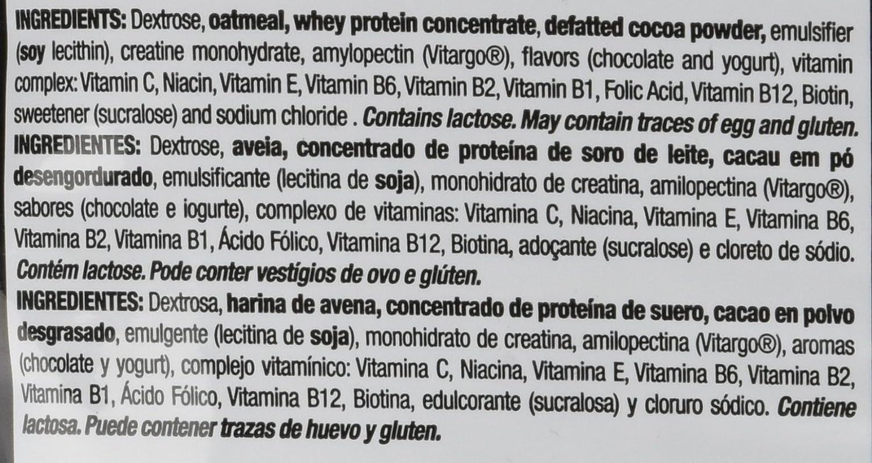 Quamtrax Nutrition - Suplemento para Deportistas MassiveGainer, Sabor a Fresa, 3700 gr: Amazon.es: Salud y cuidado personal