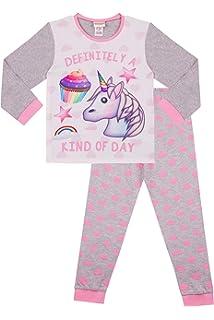 37514be027 Definitely a Kind of Day Emoji Unicorn Cupcakes Long Pyjamas Girls Pink