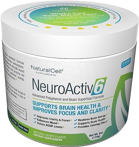 Buy Neuroactiv6 Brain Supplement Reds Superfood Powder Antioxidants