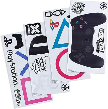 multicolore Paladone PP6581PS Playstation Stickers muraux en vinyle 22 autocollants pour joueurs /étanche et amovible