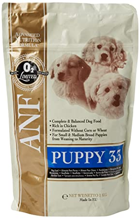 Anf Puppy Food 33 1 Kg Amazon Co Uk Pet Supplies